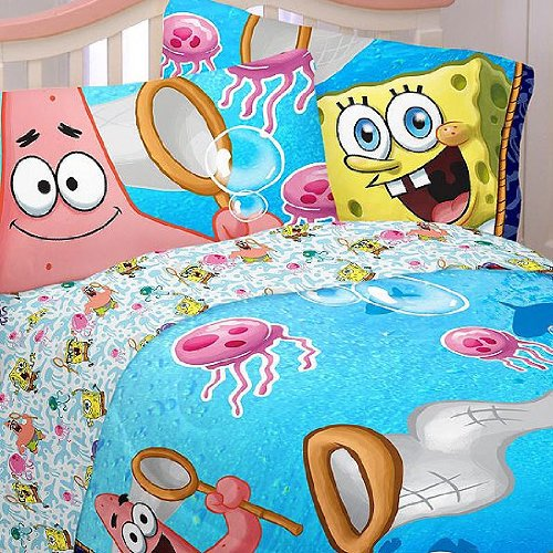 Spongebob Squarepants Jellyfishing Hunt bedding