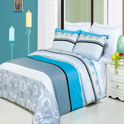 teen bedding in turquoise