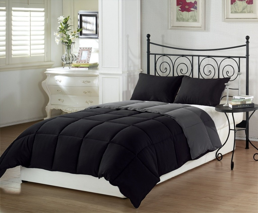 black bedding