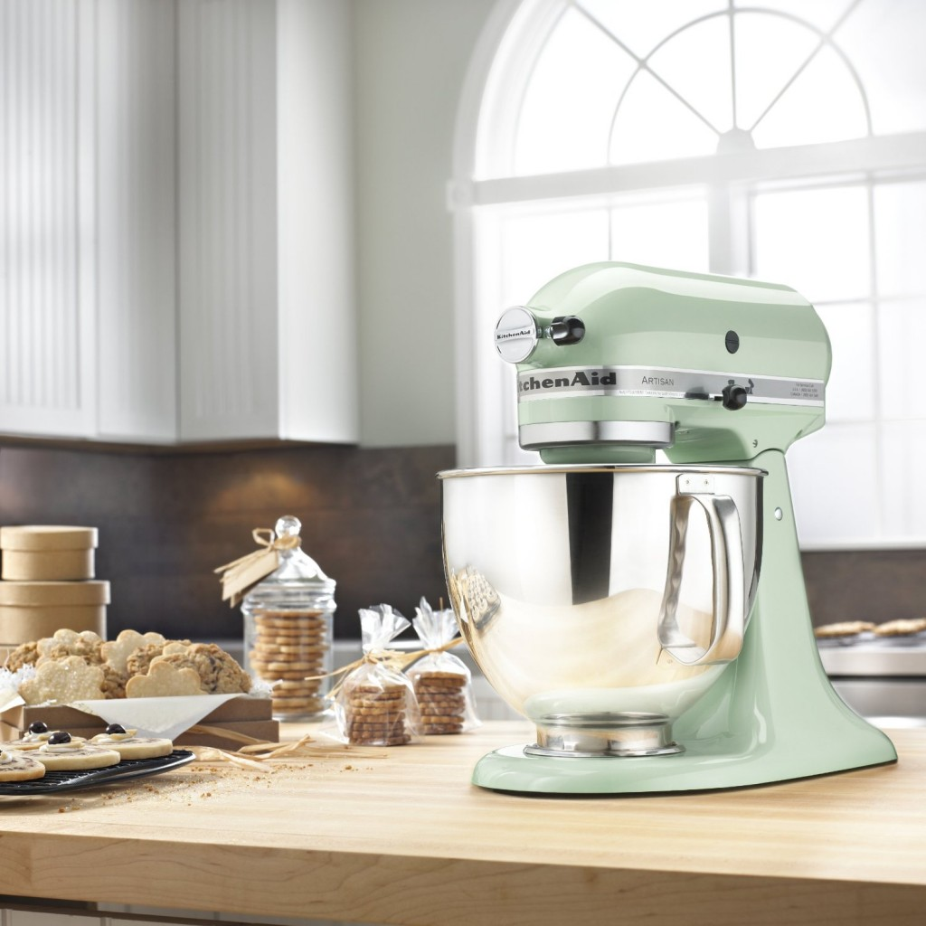 KitchenAid Artisan 5-Quart Stand Mixers in mint