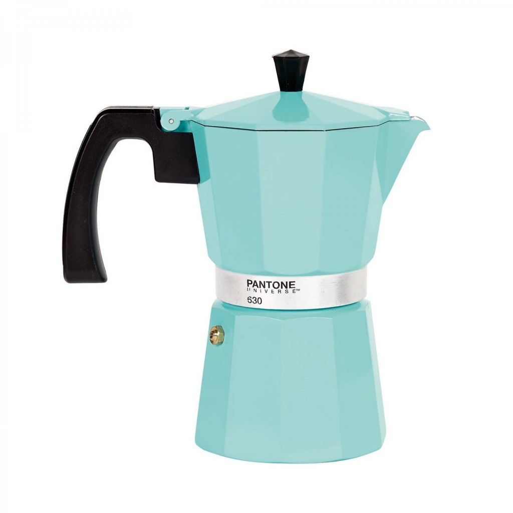 pantone mint coffee maker