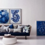 Top 5 Living Rooms in Blue and Neutrals