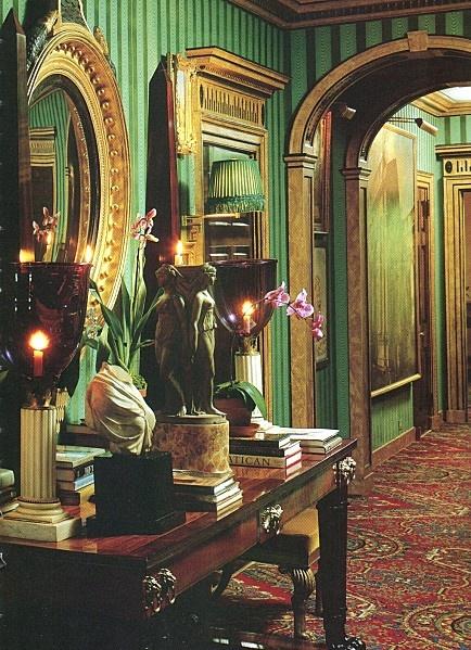 Oscar de la Renta's flat in NYC