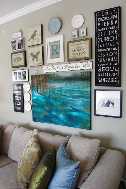 gallery wall idea