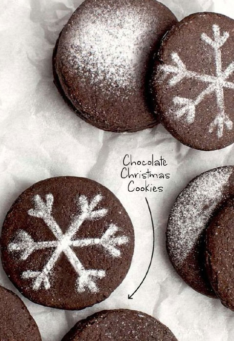 Chocolate-Christmas-Cookies