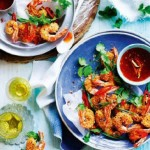 Crunchy Salt & Pepper Prawns with Sweet Chilli Syrup