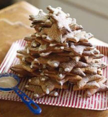 Ginger-xmas-tree-cookie-recipes