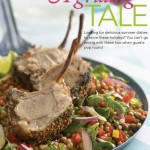 Indian-Spiced Lamb Cutlets with Lentil & Herb Salad