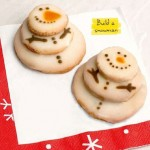 Sugar-Glazed Snowman Cookies
