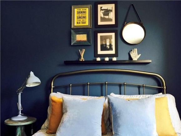 Farrow and Ball Stiffkey Bedroom 1