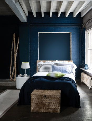Farrow and Ball Stiffkey Bedroom