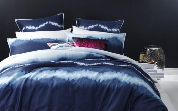 Tie gyed indigo bedding