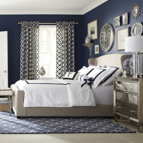 25 Amazing Indigo Blue Bedroom Ideas Panda S House