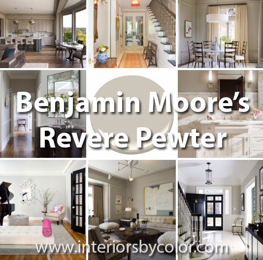 Benjamin Moore Revere Pewter - The Perfect Griege