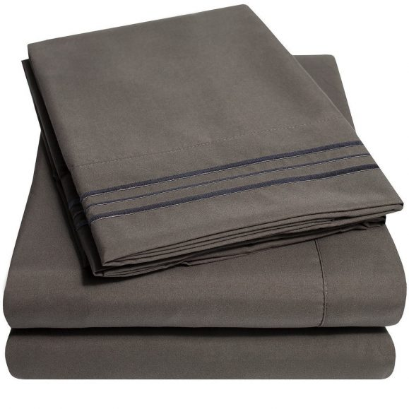 500 Supreme Collection Bed Sheets gray