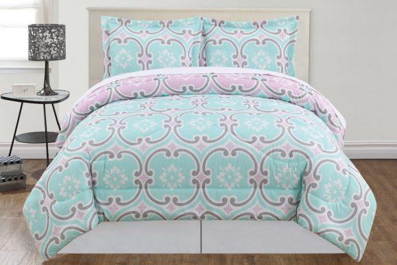 Pem America Mint Comforter Set mint