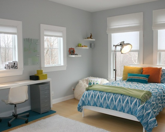 Bedrooms Painted in Pastels from Benjamin Moore - Pandau0026#39;s ...