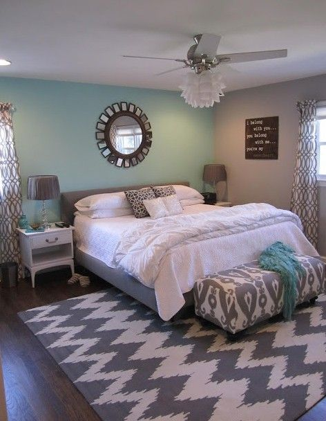 Green archives panda 39 s house 88 interior decorating ideas for Bedroom ideas using grey