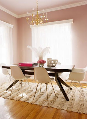 Benjamin Moore Tissue Pink